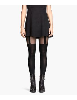 patterned-tights by h&m
