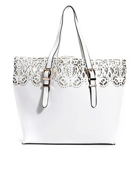 new-look-baroque-lasercut-tote-bag by new-look