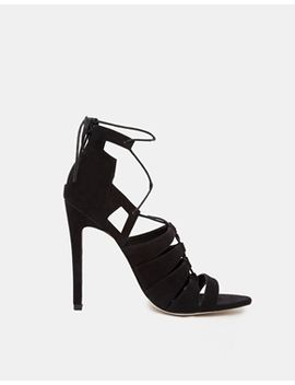 asos-heartbreak-hotel-lace-up-heeled-sandals by asos-collection