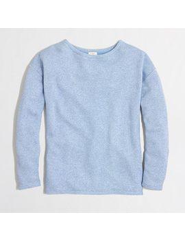 factory-textured-sweatshirt by jcrew
