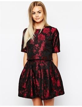 sister-jane-floral-veil-co-ord by asos-brand