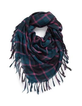 plaid-square-scarf by david-&-young