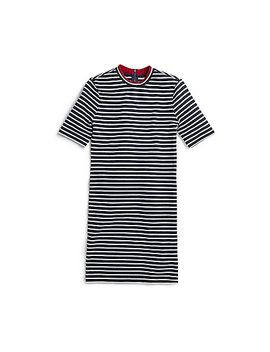 yachting-stripe-crew-neck-dress by sperry