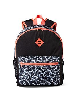 xersion™-black-leopard-backpack by xersion™-black-leopard-backpack