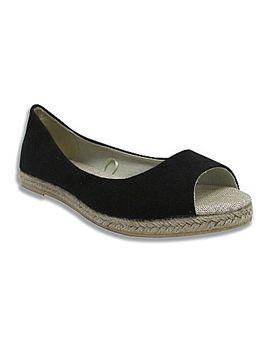 black-tweed-peep-toe-flats by black-tweed-peep-toe-flats
