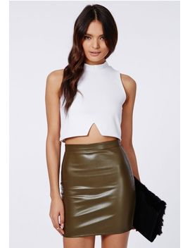 jayne-cut-out-hem-crop-top-white by missguided