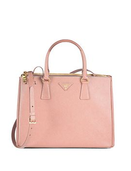 saffiano-medium-double-zip-top-handle-bag by prada