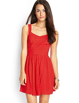dotted-cutout-dress by forever-21