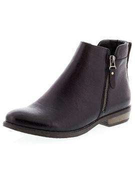 denver-ankle-boots---black by target