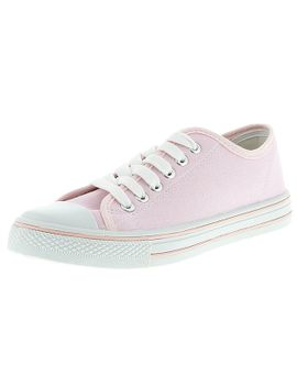 neat-lace-up-canvas-shoes---pink by target