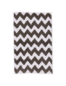 chevron-bath-mat---grey by target