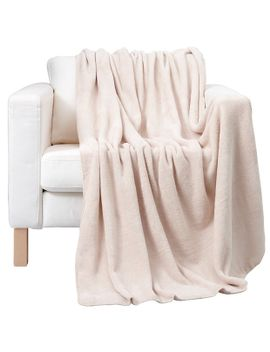 micro-cosy-plush-throw---oatmeal by target