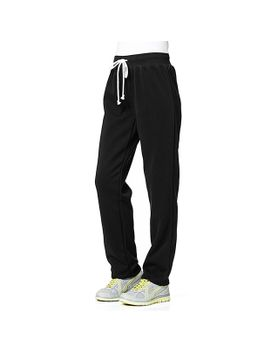 womens-fleece-trackpants---black by target