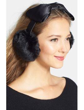 faux-fur-earmuffs by kate-spade-new-york