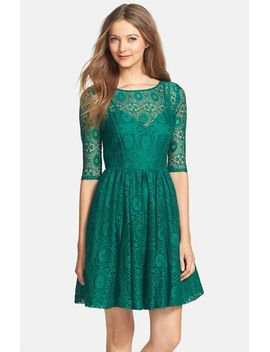 estella-lace-fit-&-flare-dress by plenty-by-tracy-reese