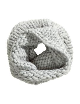 chunky-knit-tube-scarf by h&m