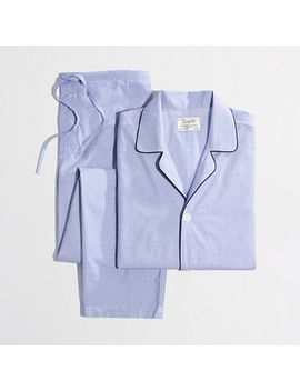 cotton-poplin-pajama-set by jcrew