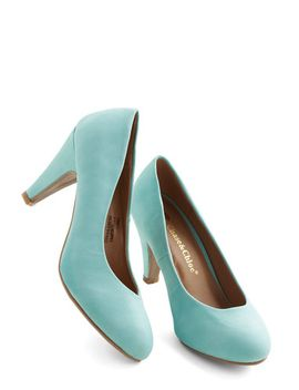 in-a-classic-of-its-own-heel-in-mint by modcloth