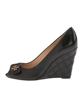 leila-100mm-open-toe-wedge by tory-burch