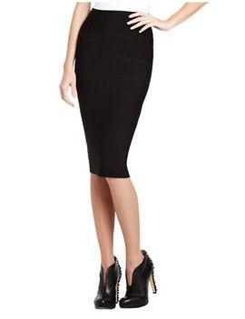 leger-high-waist-power-skirt by bcbgmaxazria