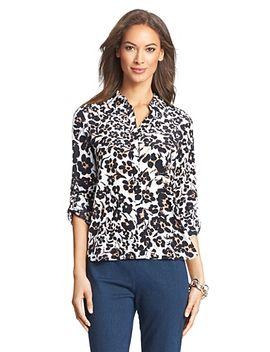 lorelei-two-printed-silk-blouse by dvf