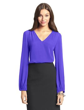 dvf-arlenis-silk-blouse by dvf