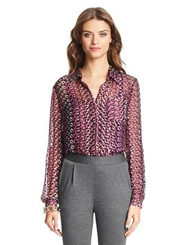 lorelei-two-silk-blouse by dvf
