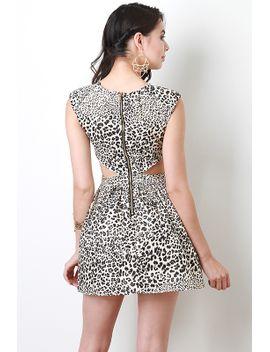 spotted-leopard-print-skater-dress by urbanog