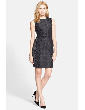 pentra-tweed-sheath-dress by diane-von-furstenberg
