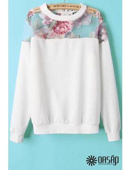 innovative-organza-paneled-sweatshirt by oasap