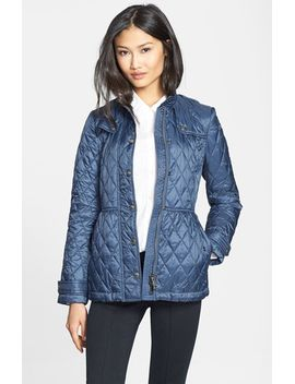 starkford-belted-quilted-jacket by burberry-brit