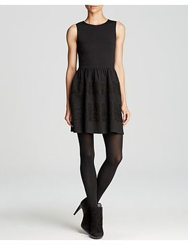 dress---lace-teacup-stripe by aqua