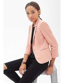 double-collar-blazer by forever-21