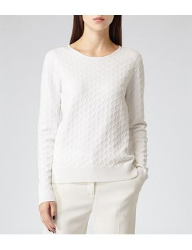 textured-knit-jumper by aggie