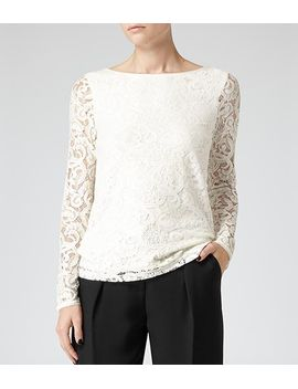 long-sleeve-lace-top by dellah
