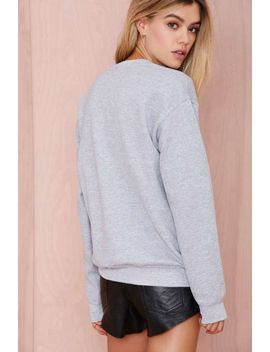 danielle-guizio-control-freak-sweatshirt by nasty-gal