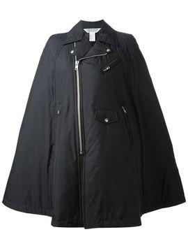 zipped-up-cape by comme-des-garçons-comme-des-garçons