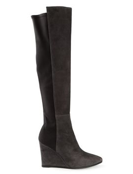 contrast-panel-wedge-boots by stuart-weitzman