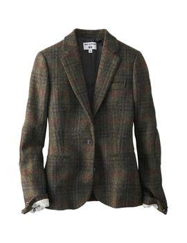 women-idlf-tweed-jacket by uniqlo