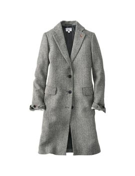 women-idlf-tweed-chester-coat by uniqlo