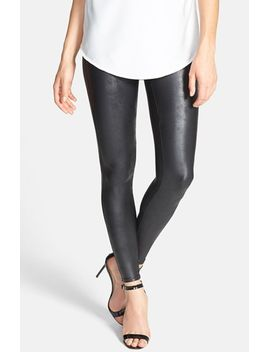 faux-leather-leggings by spanx®