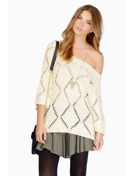 walking-in-downtown-cream-knitted-sweater by tobi