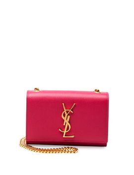 monogram-small-crossbody-bag,-fuchsia by saint-laurent