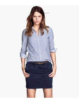 twill-skirt by h&m