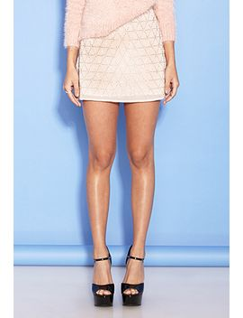 beaded-chiffon-skirt by forever-21