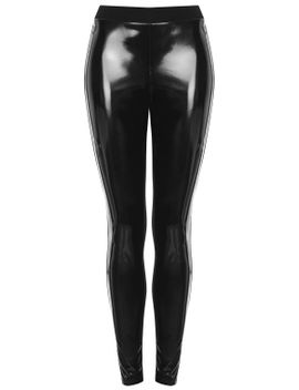 vinyl-front-ponte-leggings by topshop