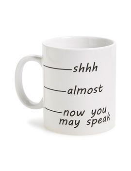 shhh-ceramic-mug by barbuzzo