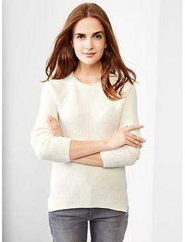 ribbed-raglan-sweater by gap