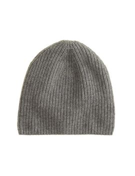 ribbed-cashmere-hat by jcrew