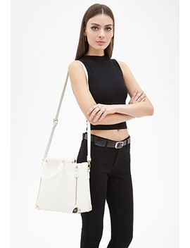faux-leather-trapeze-bag by forever-21